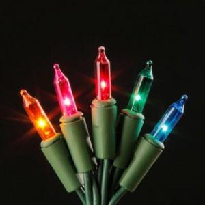 100-Light Multi-Color Mini Light Set Sale