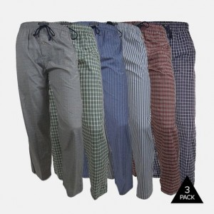 picture of 3-Pack Andrew Scott Woven Lounge Pants Sale