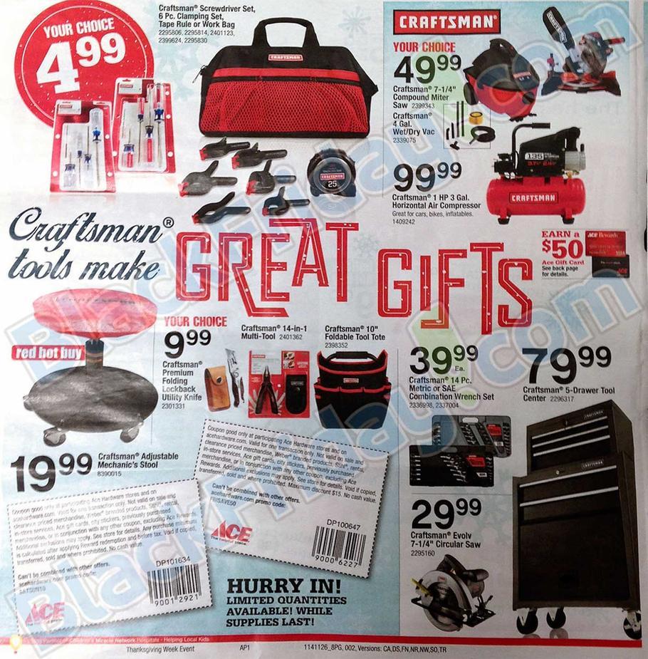 black friday 2014 ace hardware ad scan buyvia. Black Bedroom Furniture Sets. Home Design Ideas