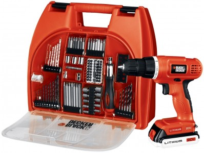 Black & Decker 20-Volt MAX Lithium-Ion Drill Kit Sale