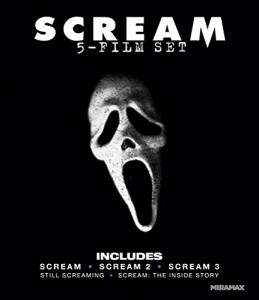 picture of Scream: Five-Film Set on Blu-ray Sale