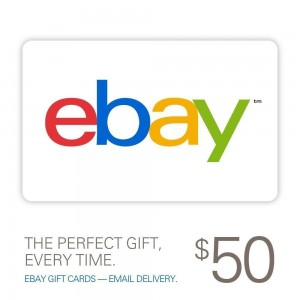$45 for $50 eBay Gift Card