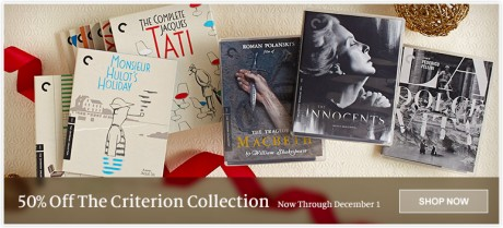 picture of 50% Off The Criterion Collection: Great Films, Classic Editions
