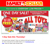 picture of Black Friday 2016: Family Dollar Ad Scan