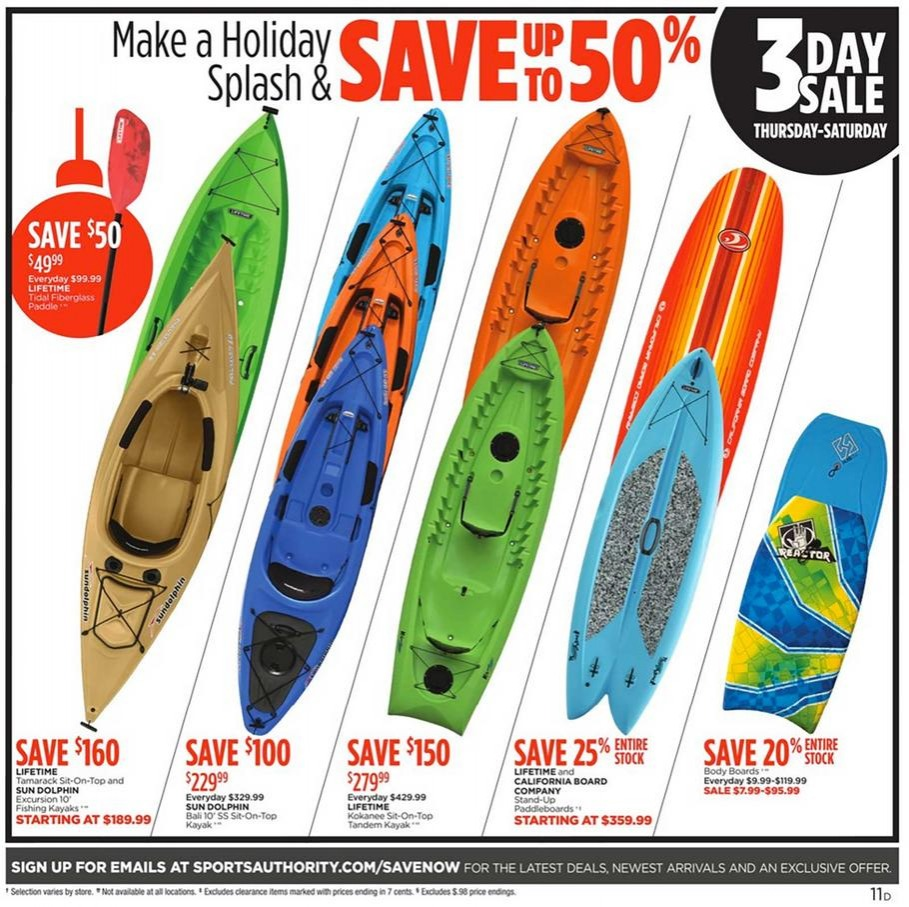 Black Friday 2015 Sports Authority Ad Scan Buyvia