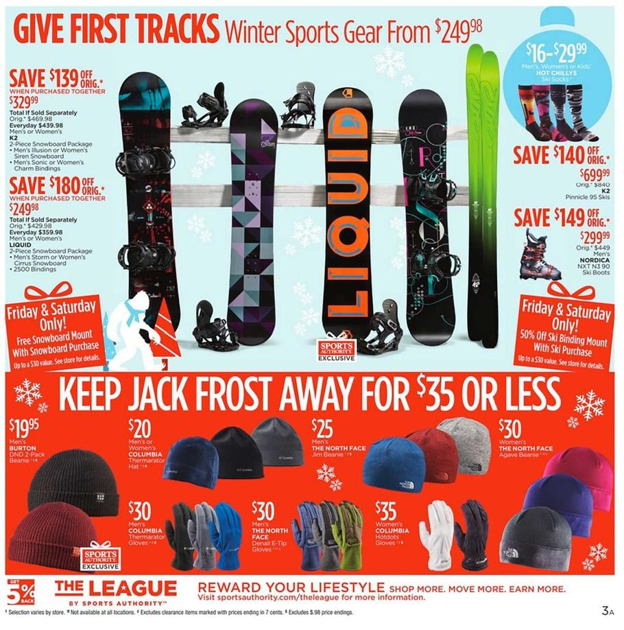 Olympia Sports Black Friday 2015: Black Friday 2015: Sports Authority Ad Scan