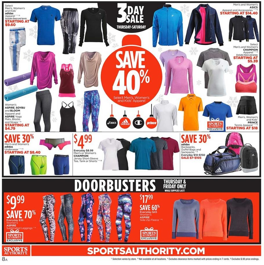 Sports authority deals black friday
