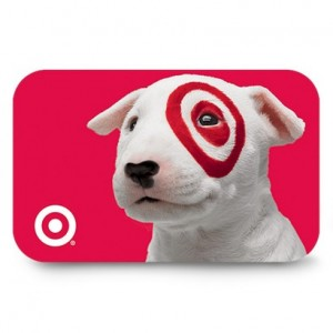 Target gift card sale