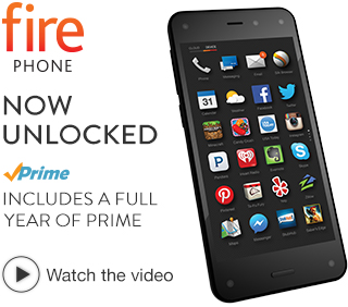 picture of Fire Phone, 32GB (Unlocked GSM) + Free Prime Sale