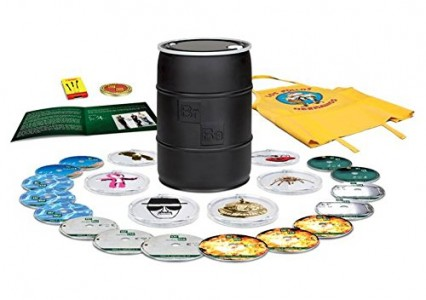Breaking Bad Complete Series Barrel Blu-ray or DVD Sale