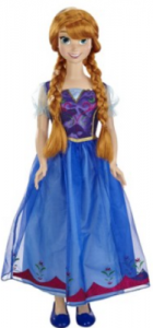 picture of Disney Frozen My Size Anna Doll + Sing-Along DVD