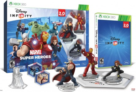 picture of Disney INFINITY: Marvel Super Heroes 2.0 Starter Pack Video Game Set Sale