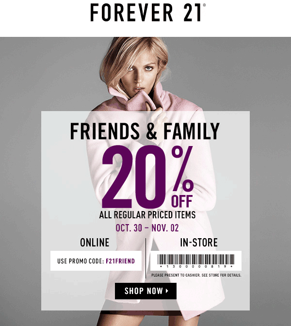 How to Use Forever 21 Coupons