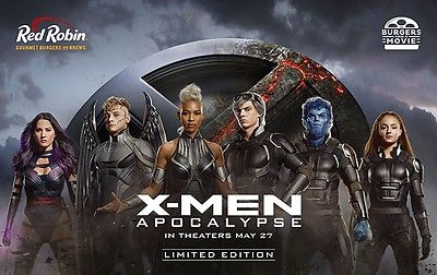 Red Robin Gift Card with XMEN free ticket