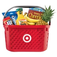 Target $10 Gift card with $50 food
