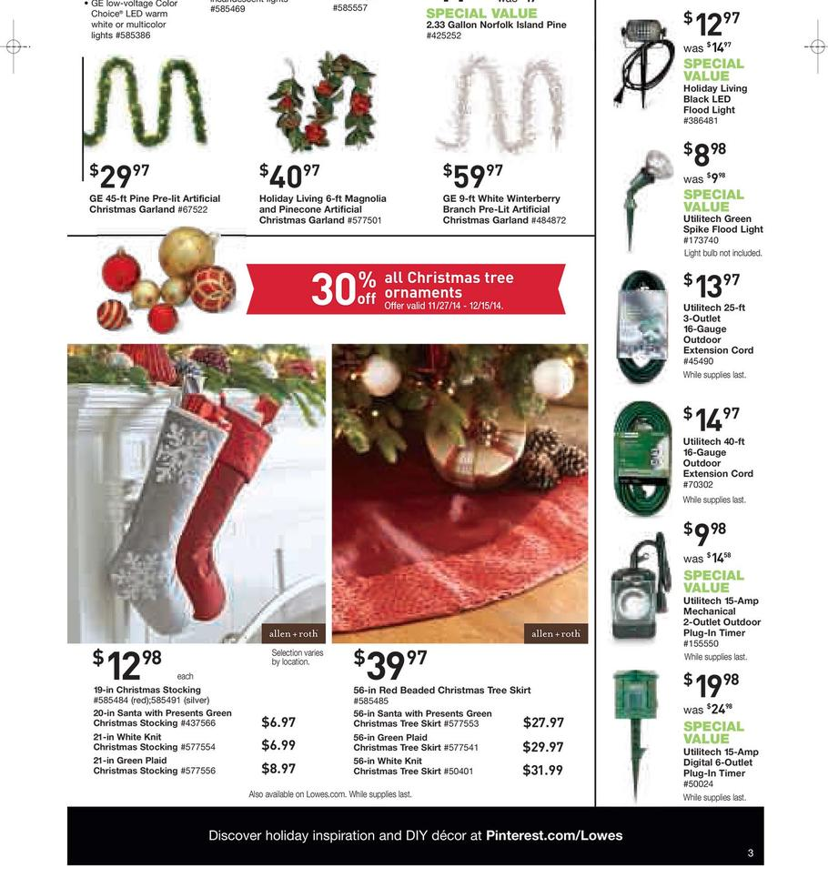 Lowes black friday ad 2014
