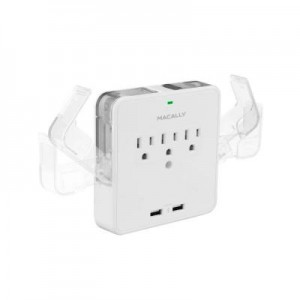 picture of MacAlly Wall AC Outlet with 2 USB Charging Port Sale