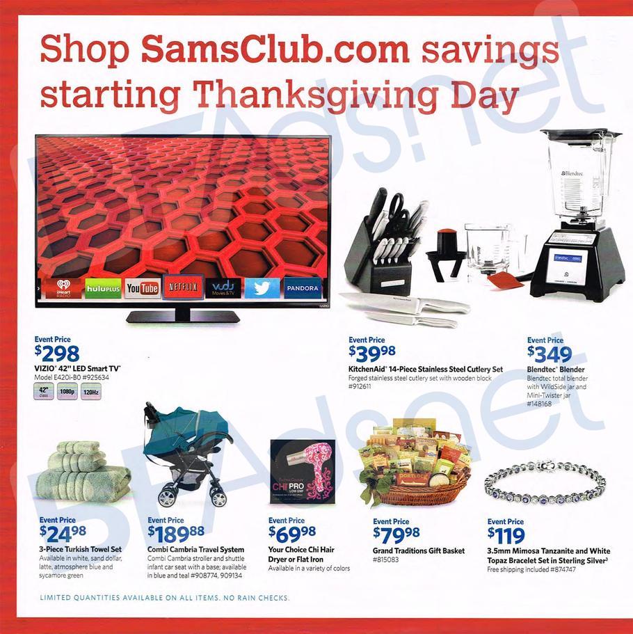 Sam's club black friday tv deals 2018