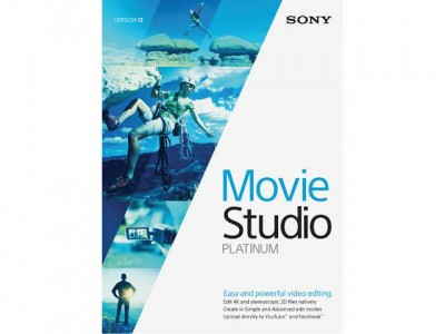 picture of Sony Movie Studio 13 Platinum Software Download for PC