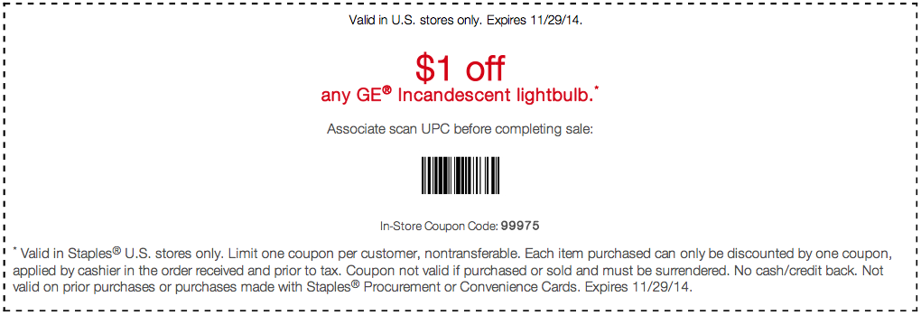 Staples offers everyday low prices and free shipping for Staples Rewards members. Plus, save even more with these coupon codes and printable coupons. Plus sign up for SMS alerts and get $5 off your $25 purchase. Sign Up. In-Store/Online/Phone Coupon Code: See Disclaimer. Valid online at unicornioretrasado.tk