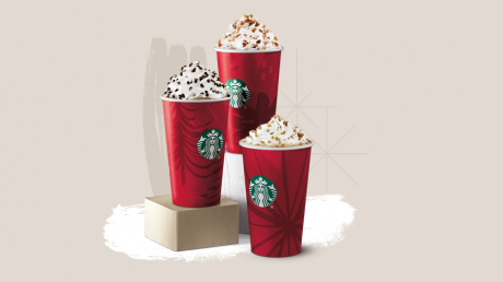 picture of Starbucks Buy 1 Get 1 Free Holiday Drinks