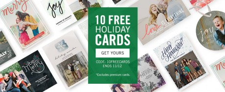 picture of tinyprints 10 FREE Holiday Cards