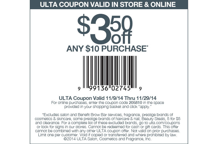 Ulta Beauty Online And In Store Coupons Promotions Specials For