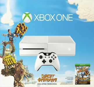 picture of Xbox One Special Edition Sunset Overdrive Bundle Sale