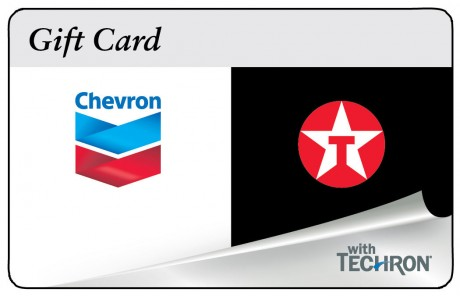 picture of $110 in Chevron and Texaco Gas for $100