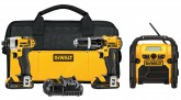 DEWALT DCK385C2 20V MAX Lithium-Ion 3-Tool Combo Kit with Hammer Drill and Impact Driver