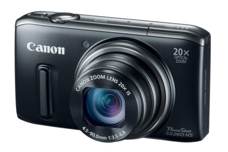 picture of Canon PowerShot SX260HS 12.1MP 20x zoom Digital Camera Sale