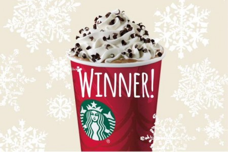 picture of Starbucks 50% Off Peppermint Mocha