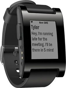 picture of Pebble Smart Watch for iOS, Android Refurbished Sale
