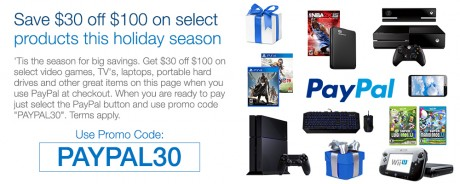 picture of Rakuten (Buy.com) PayPal $30 off $100 - Apple TV, Fitbit, Playstation+