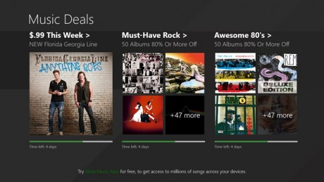 picture of Windows App Store 100 Free MP3 Albums