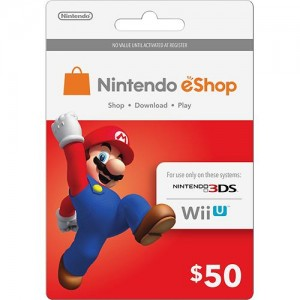 picture of 10% off Nintendo eShop Prepaid Cards