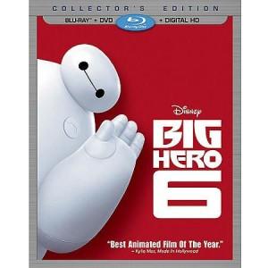 picture of Big Hero 6 (Blu-ray + DVD + Digital HD)  Pre-Order Sale