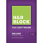 picture of H&R Block Homeowner, Self-Employeed Tax Software $18 Off Sale