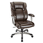 picture of Realspace Salsbury Leather High Back Chair Sale