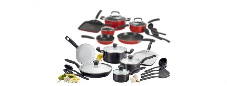 picture of T-fal Nonstick 12-Piece Cookware Set Sale