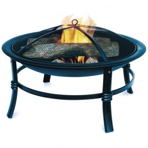 picture of 28in Steel Outdoor Fire Pit Sale