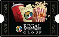 $50 Regal Entertainment Gift Card for $40