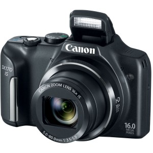 picture of Canon PowerShot SX170 IS 16MP Refurbished Digital Camera Sale