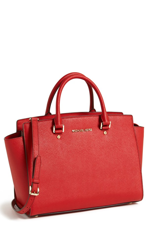 Michael Kors Large Selma Zip top satchel