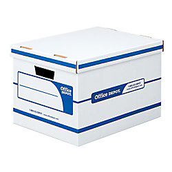 Office Depot Storage Boxes