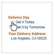 picture of Amazon Free Same-Day Delivery