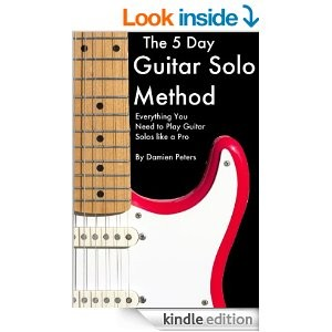 picture of Free The 5 Day Guitar Solo Method eBook