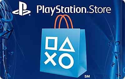 Playstation Network Card Sale