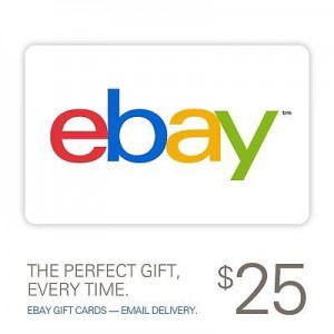 picture of $23 for a $25 eBay Gift Card
