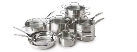 picture of Cuisinart 14-piece Hard Anodized Cookware Set Sale